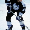 11 Dec 2000:  Craig Millar #44 of the Tampa Bay Lightning moves with the puck during the game against the Colorado Avalanche at the Pepsi Center in Denver, Colorado. The Lightning tied the Avalanche 2-2.Mandatory Credit: Brian Bahr  /Allsport