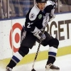6 Nov 1997:  Defenseman David Shaw of the Tampa Bay Lightning in action against the Los Angeles Kings during a game at the Great Western Arena in Inglewood, California.  The Kings defeated the Lightning 5-2. Mandatory Credit: Elsa Hasch  /Allsport