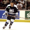 5 Nov 1997:  Leftwinger Paul Ysebaert of the Tampa Bay Lightning in action against the Anaheim Mighty Ducks during a game at Arrowhead Pond in Anaheim, California.  The Ducks defeated the Lightning 5-2. Mandatory Credit: Elsa Hasch  /Allsport
