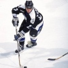 10 Nov 1999: Peter Svoboda #23 of the Tampa Bay Lightning moves with the puck during the game against the Washington Capitals at the MCI Center in Washington, D.C.The Capitals defeated the Lightning 2-1.
